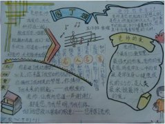 四年级园丁颂教师节手抄报内容_教师节手抄报图片