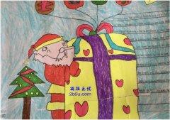 八年级英文圣诞老人手抄报内容_圣诞节手抄报图片