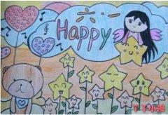 优秀关于庆祝六一儿童节手抄报模板简单漂亮