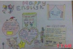 三年级英语知识手抄报怎么画简单漂亮