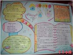 五年级汉字乐园手抄报简笔画简单漂亮