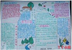6.5世界环境日爱护环境保持生态平衡手抄报小学生