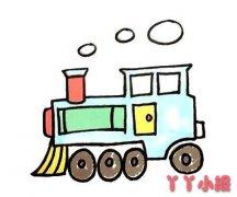 怎么画扫地车简笔画教程简单又漂亮涂色