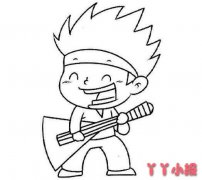 儿童节表演吉他歌唱节目简笔画图片
