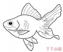 各种鱼的画法简单漂亮 鱼简笔画图片
