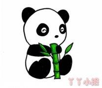 熊猫怎么画简单又漂亮 熊猫的画法图解