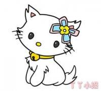 小猫怎么画简单又漂亮 小猫咪简笔画图片