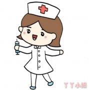 医院护士简笔画怎么画简单又漂亮教程