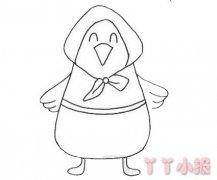 母鸡带小鸡怎么画简单好看 母鸡简笔画图片
