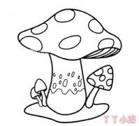 蘑菇怎么画好看 简笔画蘑菇的画法教程