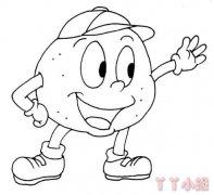 卡通土豆简笔画怎么画 土豆的画法