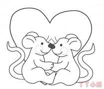 两只老鼠简笔画怎么画简单 老鼠的画法