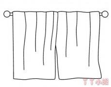 儿童毛巾简笔画图片 毛巾怎么画教程