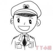 解放军怎么画好看 军人简笔画图片