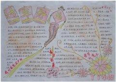 新年快乐春节手抄报简笔画的画法简单