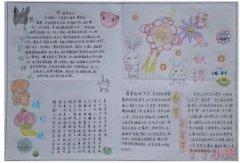 传统节日春节快乐手抄报简笔画怎么画