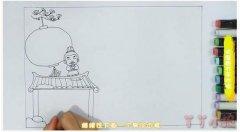 欢度春节手抄报版面设计图模板带步骤