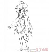 素描美少女战士怎么画带步骤图简单漂亮