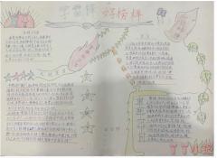 小学一年级学习雷锋精神手抄报简笔画简单好看