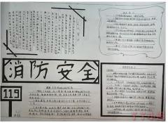 小学生消防安全手抄报简笔画怎么画简单又漂亮