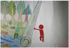 小学生垃圾分类手抄报模板图片简单又漂亮
