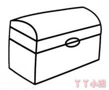 幼儿园怎么画箱子简笔画教程简单好看