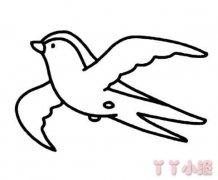 怎么绘画小燕子简笔画教程简单可爱