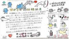 武汉加油抗击疫情手抄报模板图片简单又漂亮二年级