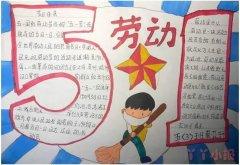 51劳动节手抄报怎么设计简单漂亮小学生一等奖